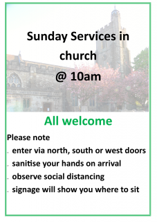Services in church