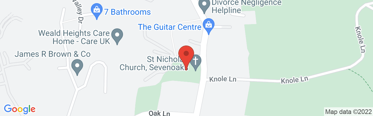 Map of St Nicholas Church Location